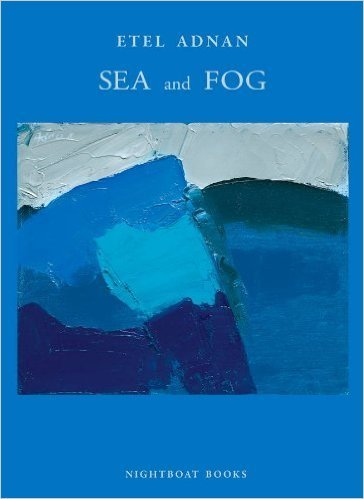 Etel Adnan Sea and fog